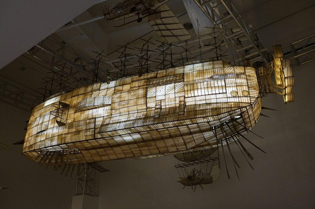 ver obras en museo de Ghibli en Tokio Japón