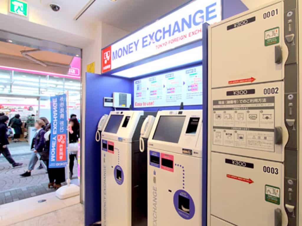 cambiar dinero japon