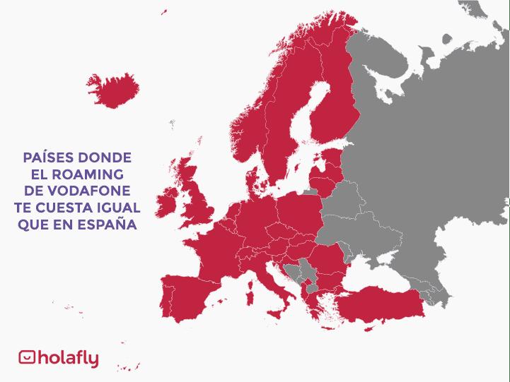 roaming vodafone gratis Europa