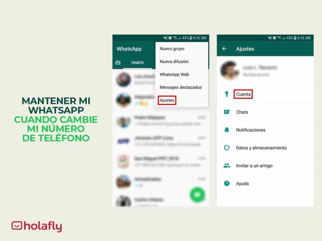 mantener whatsapp paso 1