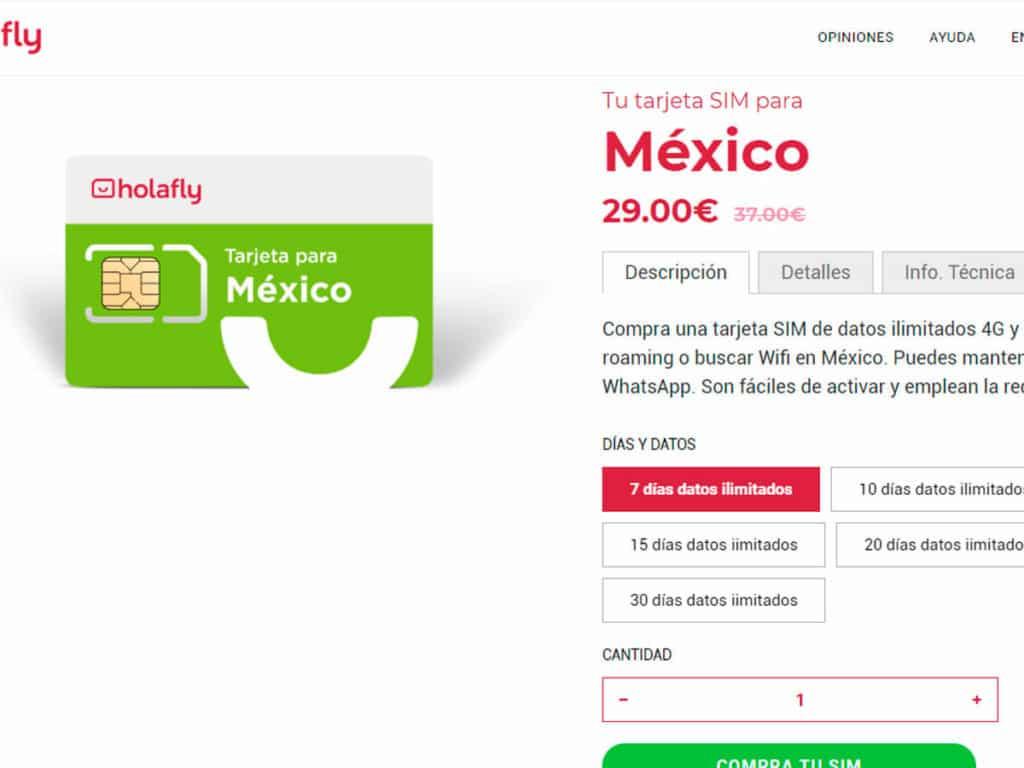 roaming movistar mexico