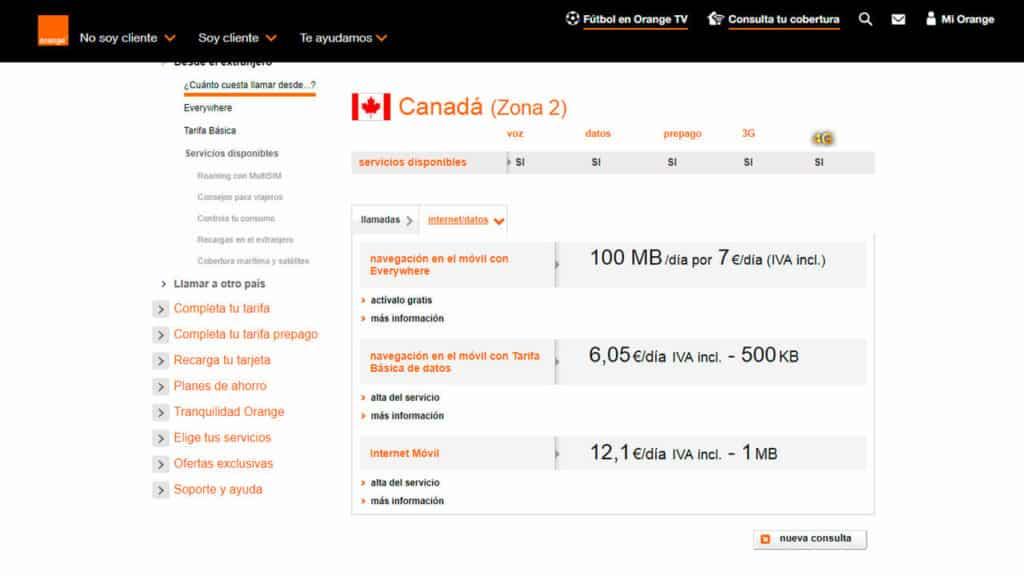 roaming canada orange