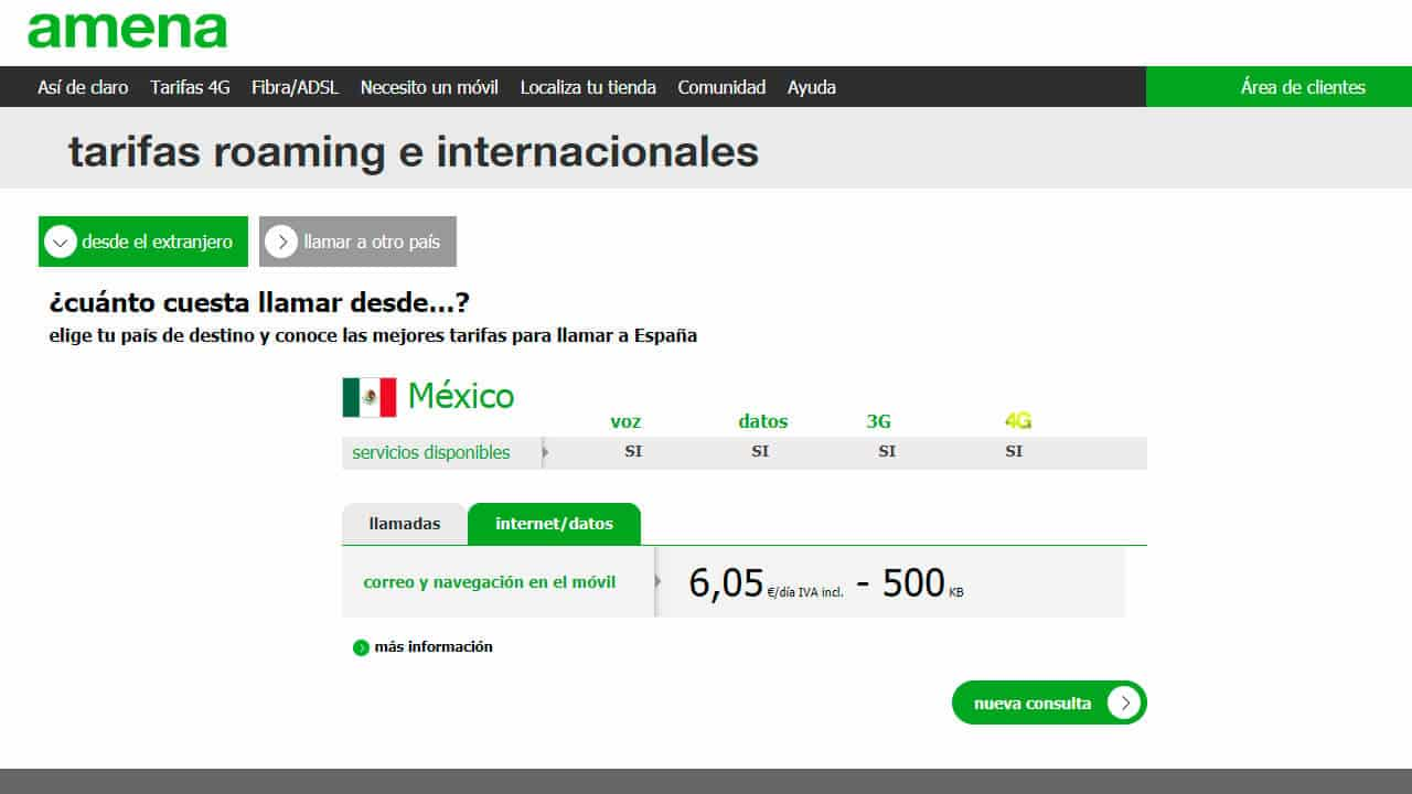 roaming norteamerica mexico con amena