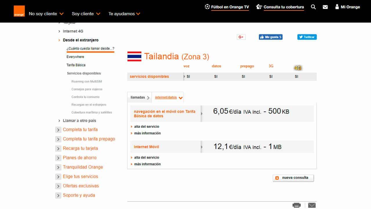roaming tailandia orange