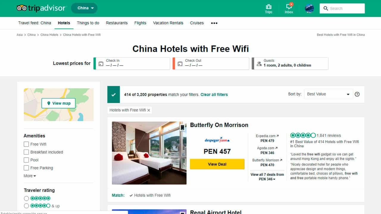roaming china wifi gratis
