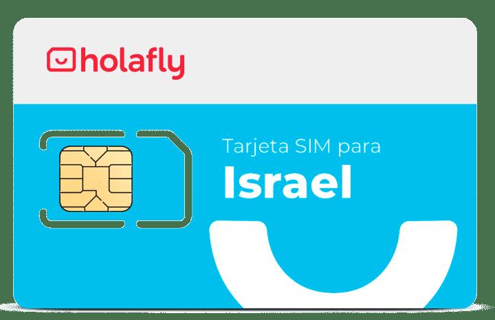 tarjeta sim israel de holafly