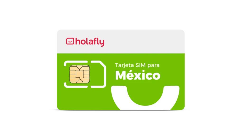 tarjeta sim datos México de Holafly