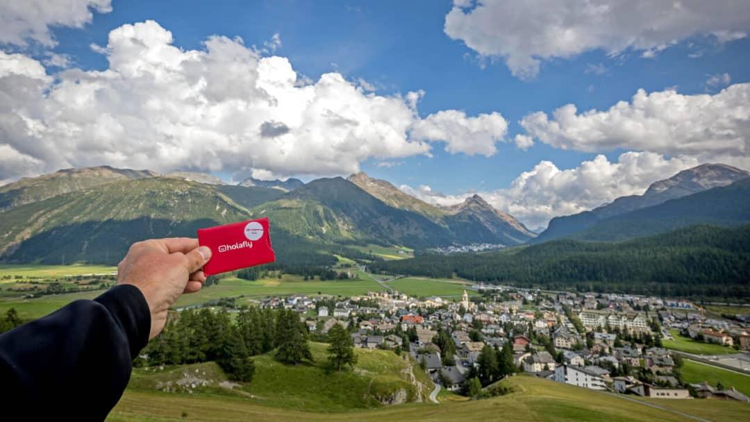 Comuna de celerina-schlarigna, suiza