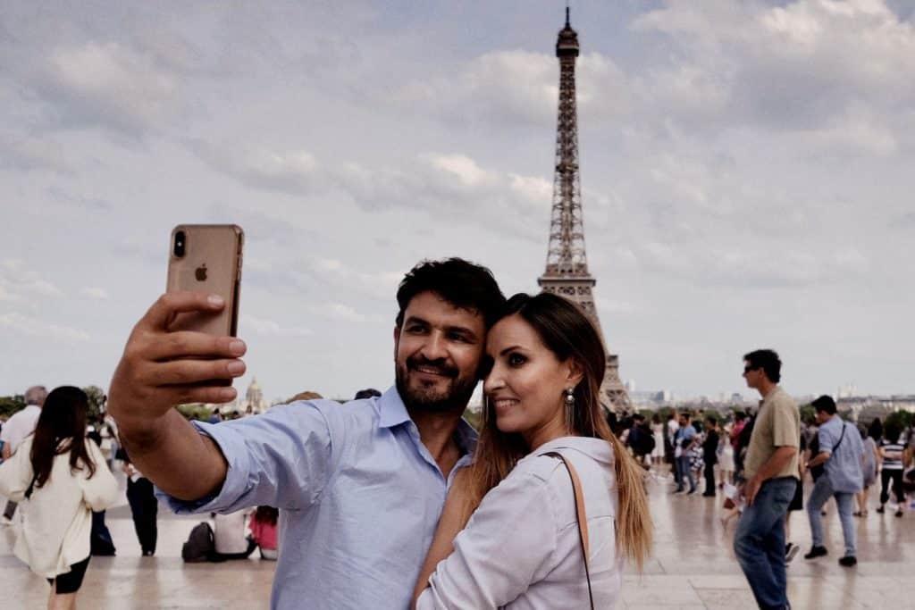 Torre Eiffel, Paris en Francia. Europa