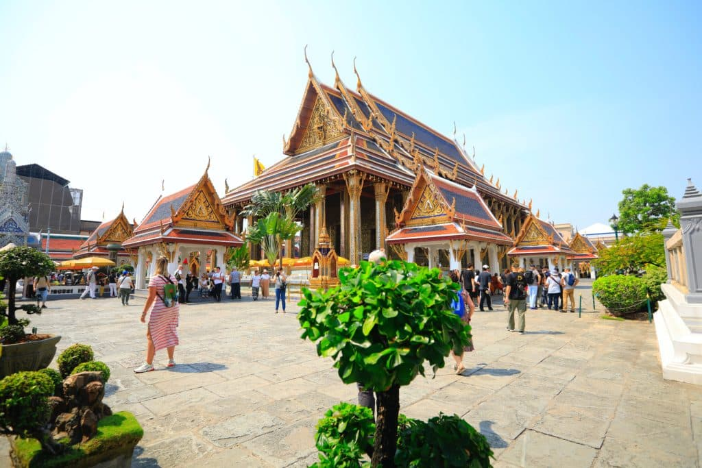 Visitar templos en Tailandia