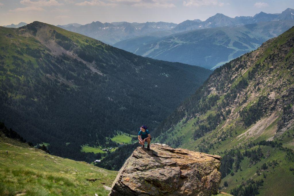Senderismo en las montañas