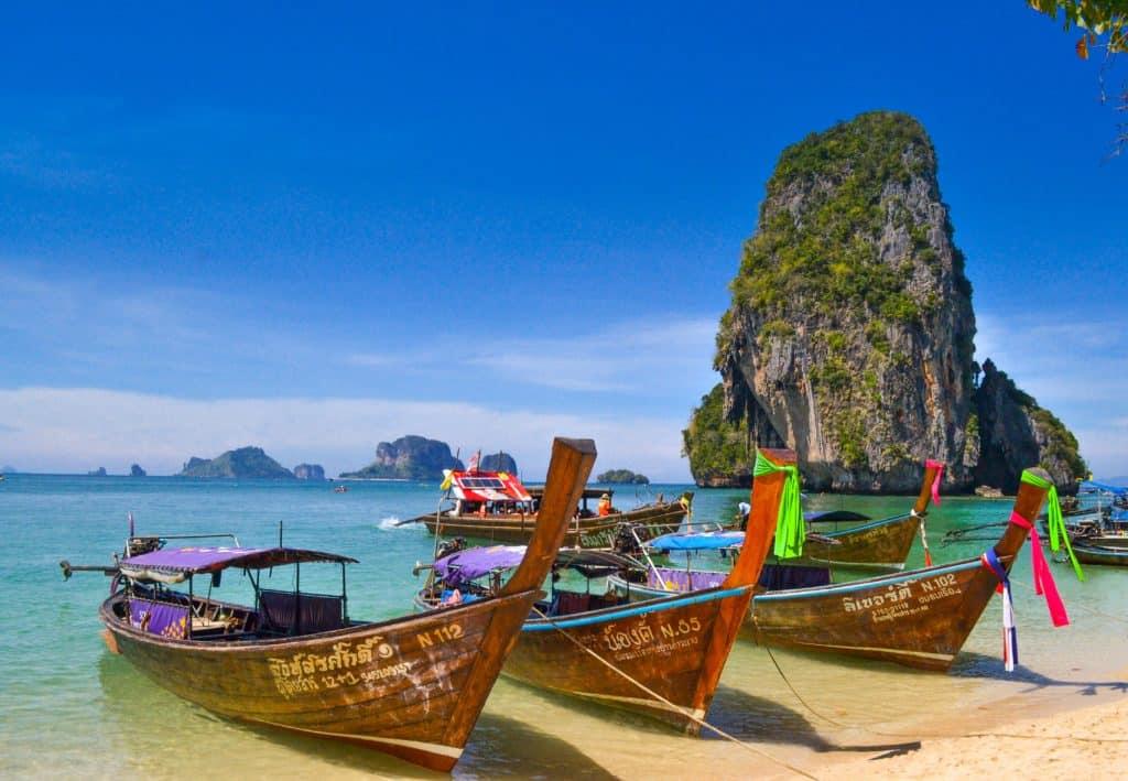 Playa Phra Nang, Krabi, Tailandia