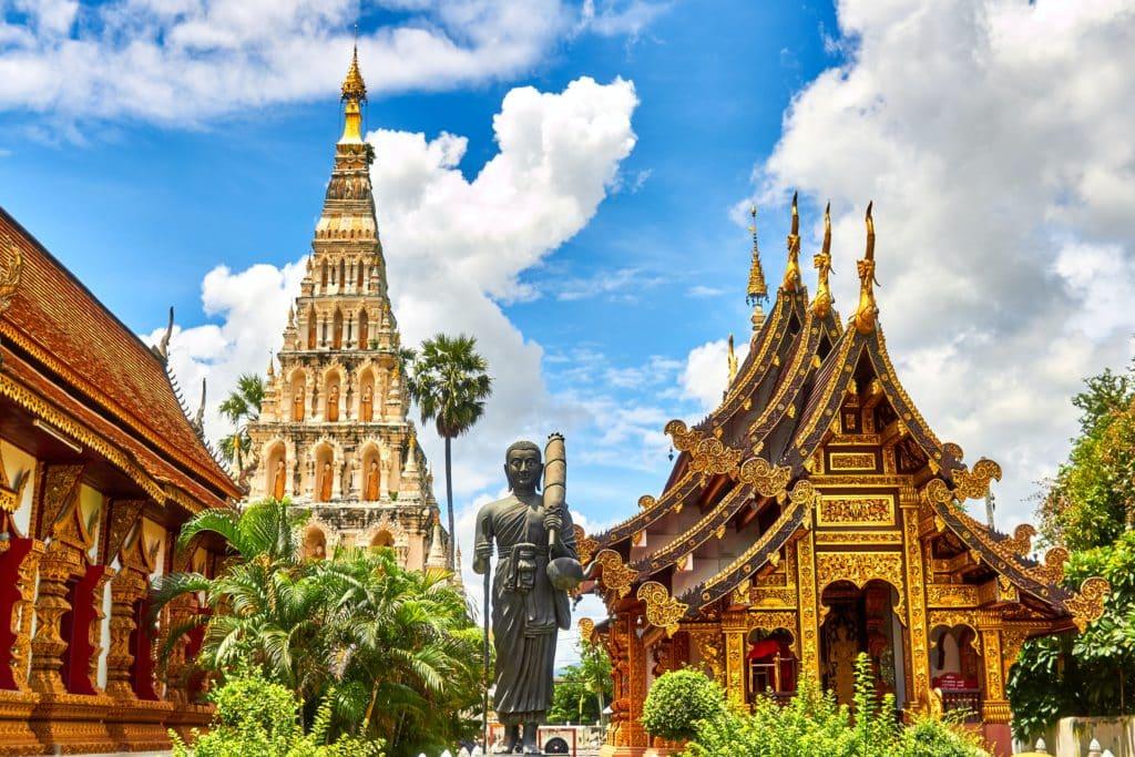 Wiang Kum Kam Tailandia (Templos)