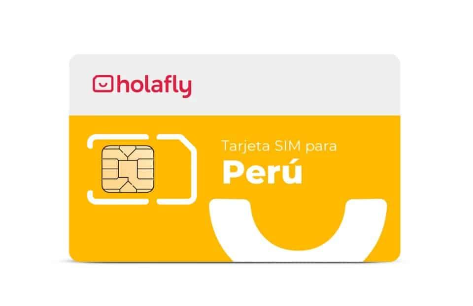 Tarjeta SIM de datos para Perú