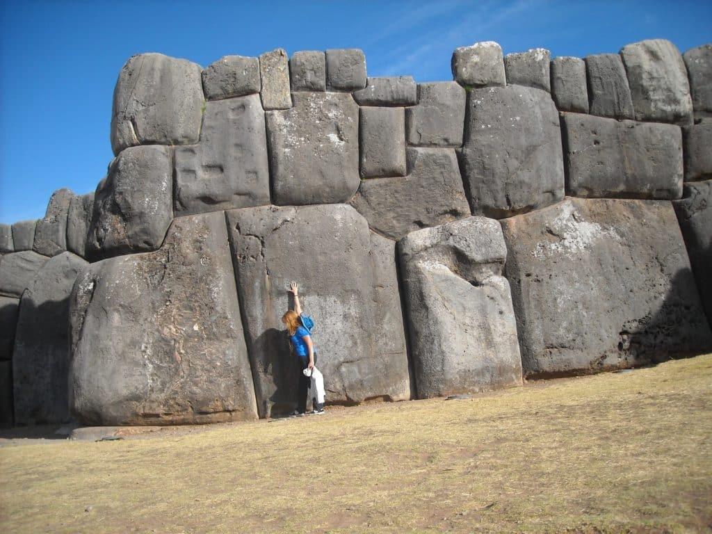 Fortaleza de Sacsayhuaman en Cusco, Perú