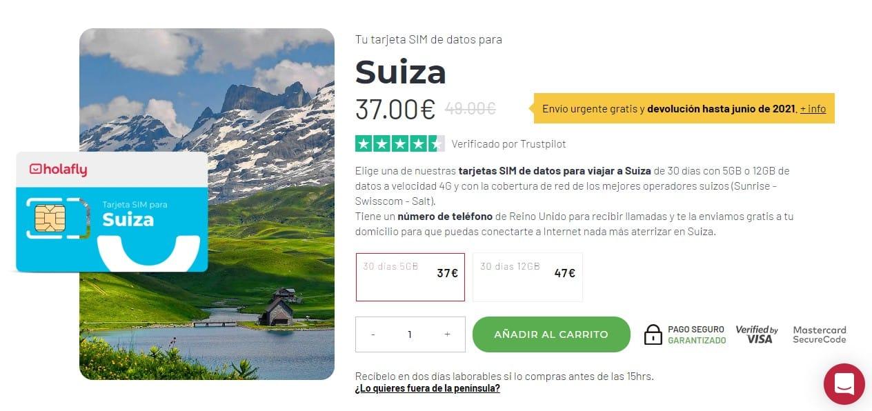 opciones al roaming en suiza para conectarse a internet