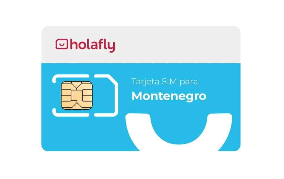Tarjeta SIM de datos de Holafly para Montenegro