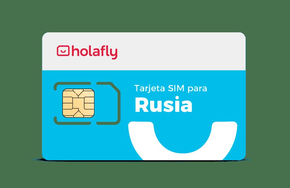 Tarjeta SIM datos Rusia para tener Internet