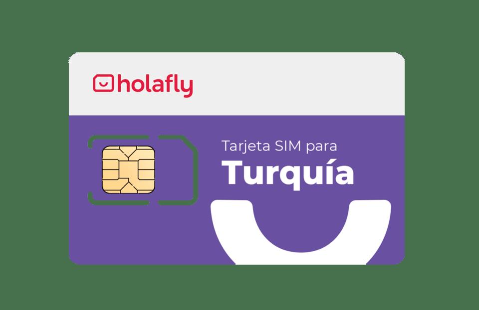 Tarjeta SIM prepago para Turquía