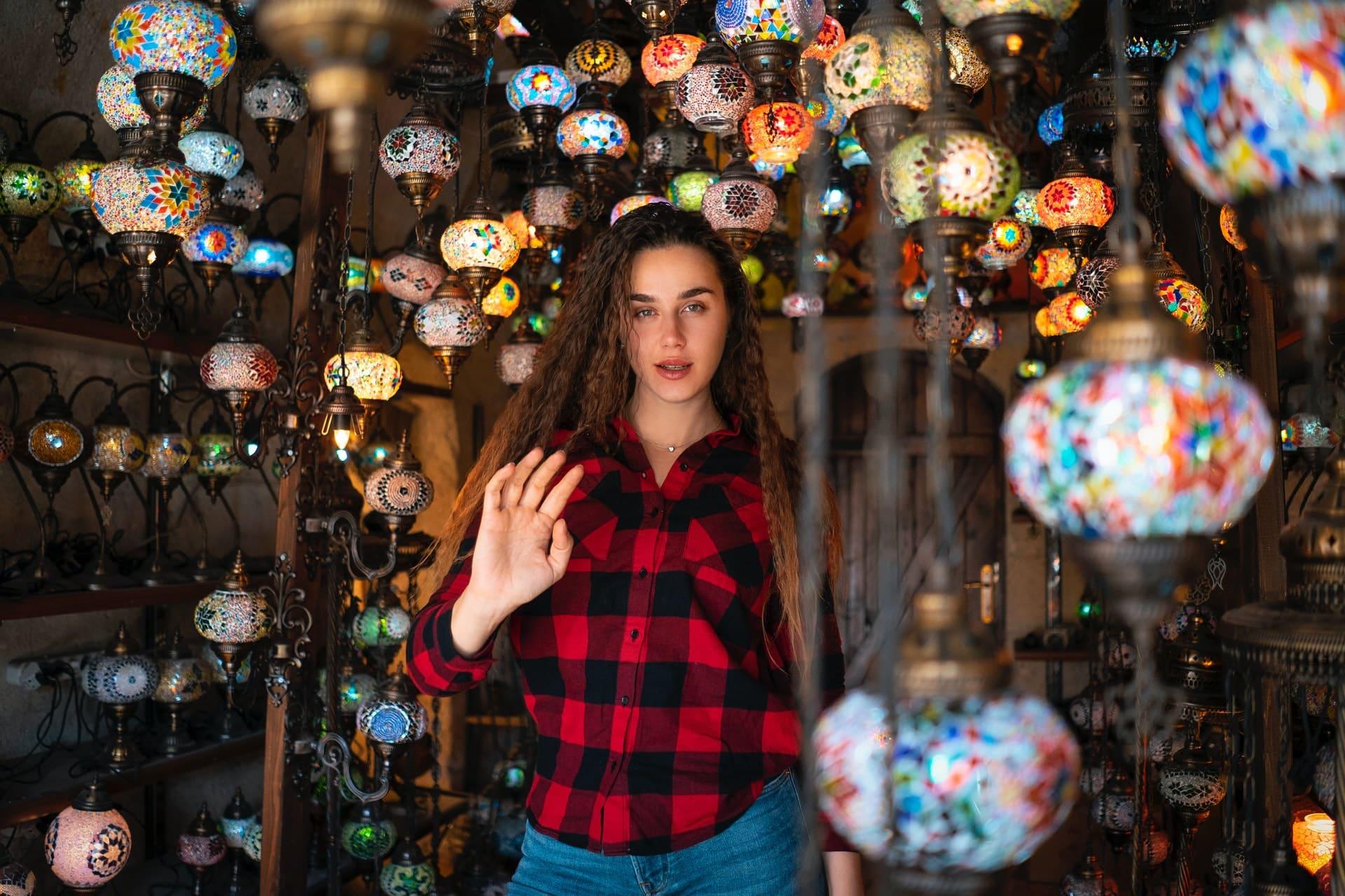 Tienda de Alfombras y Lámparas de Goreme en Capadocia, Turquía, 10 cosas que hacer