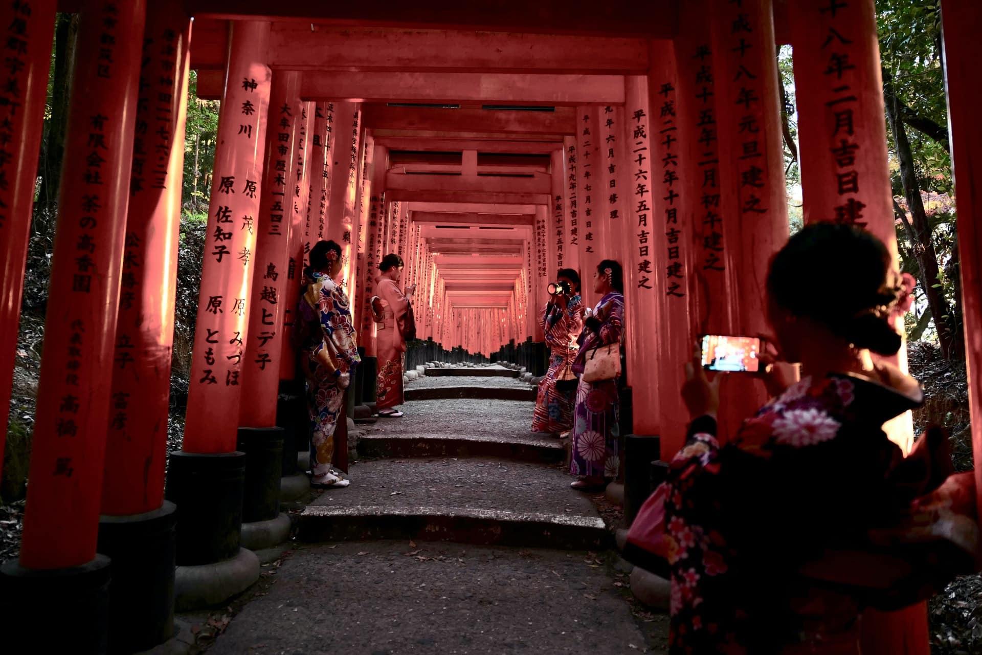 Templo Fushimi Inari Taisha, Tokio, ciudades de Japón