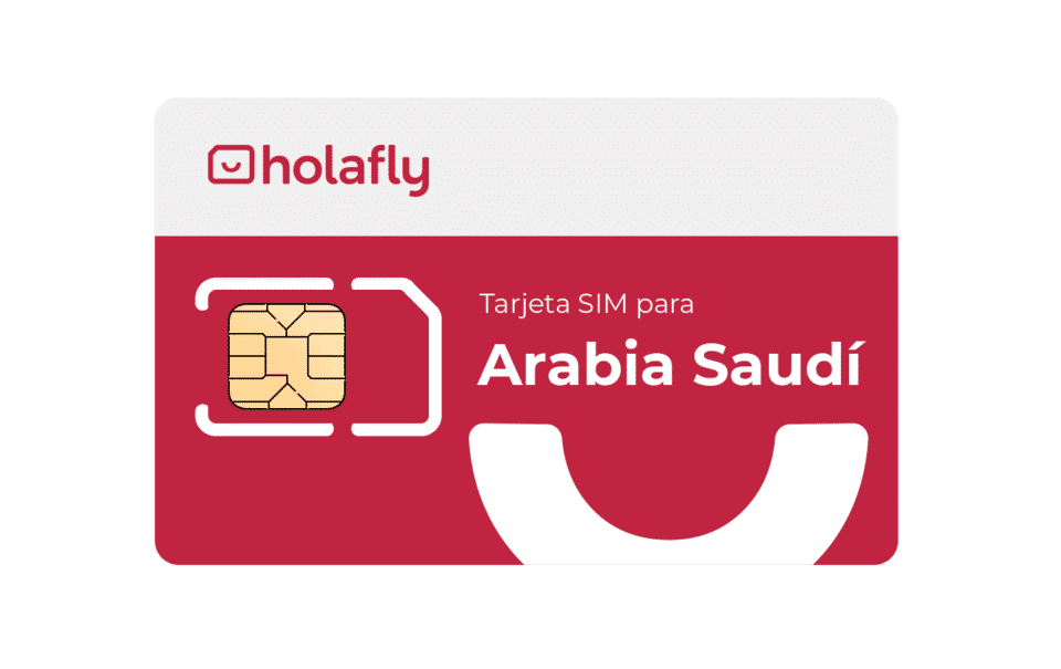 Tarjeta SIM de datos de Holafly para Arabia