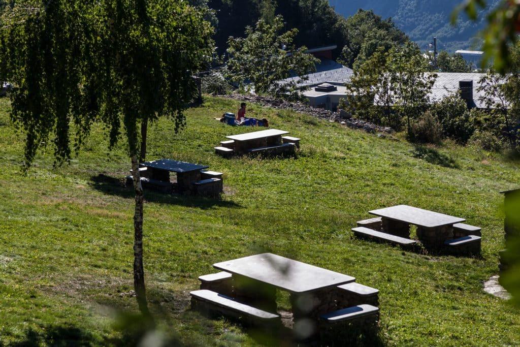 Merendero de La Comella (Andorra la Vella)