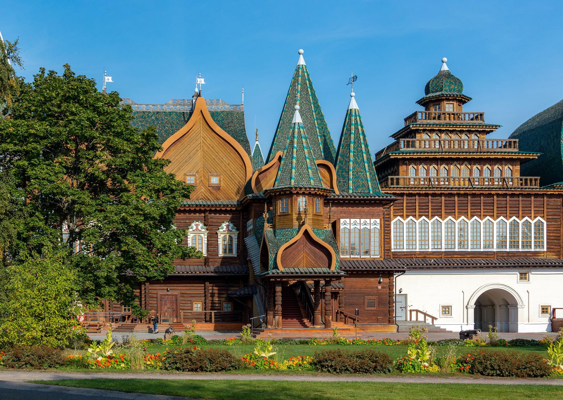 Palacio de Madera en Kolómenskoye, Moscú, Rusia, qué hacer en 3 días