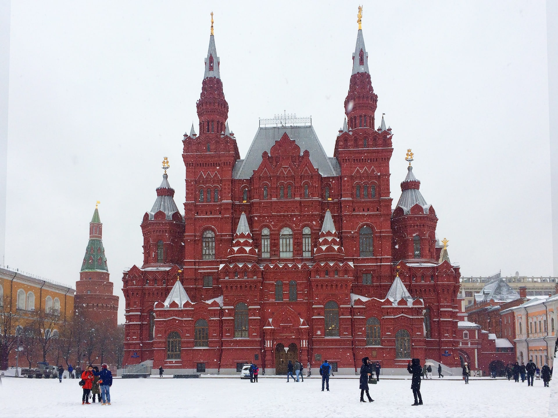 Plaza Roja en Moscú, Rusia, qué ver en 3 días