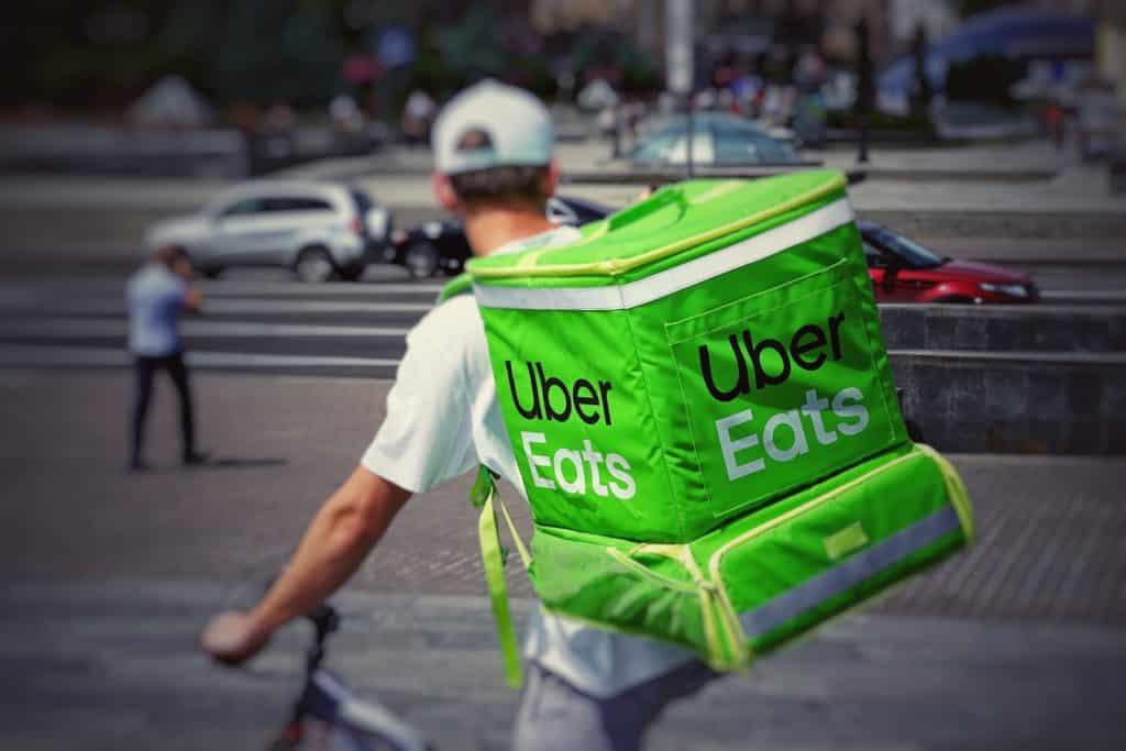 uber eats para comer en japon