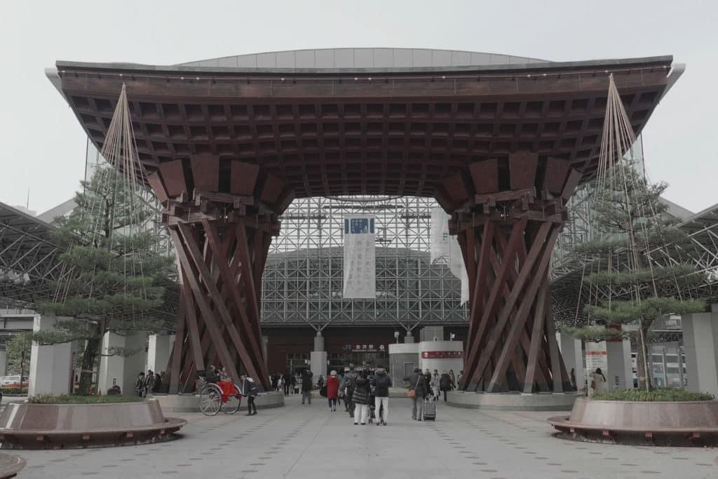 Estación de Kanazawa, monumento japonés que debes visitar