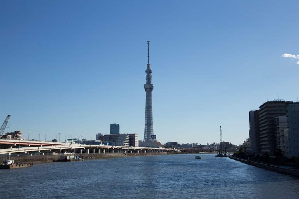 Tokio Skytree en Japón, monumentos que debes visitar