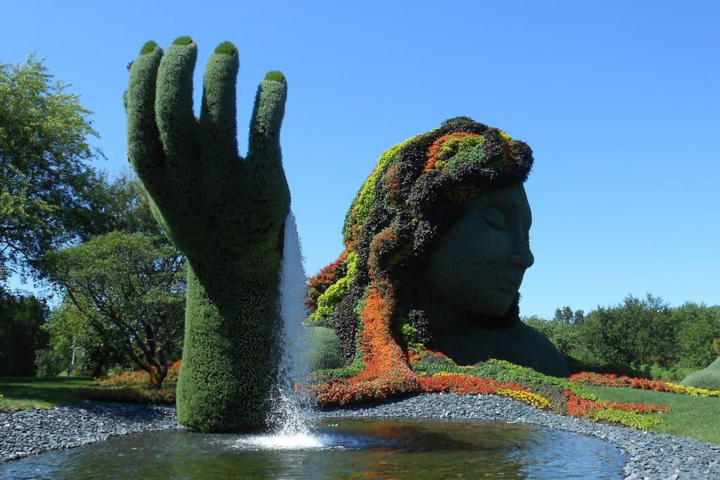 Jardín Botánico en Montreal, ciudades de Canadá