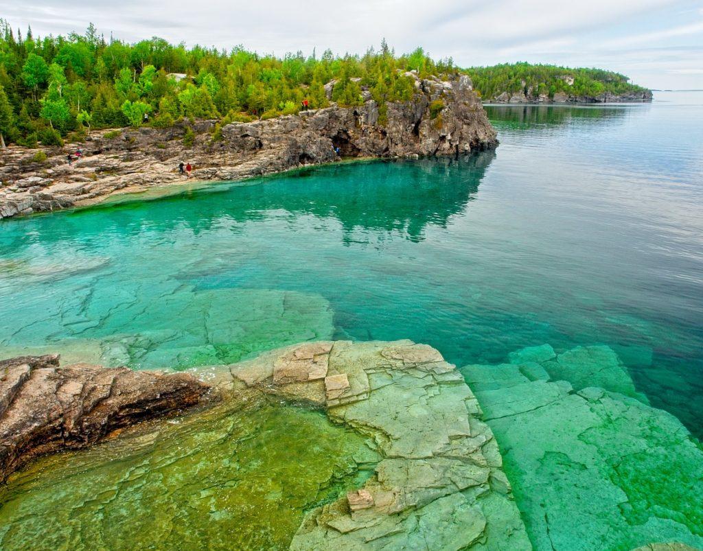 Lago Hurón en Canadá, 6 lagos turquesa