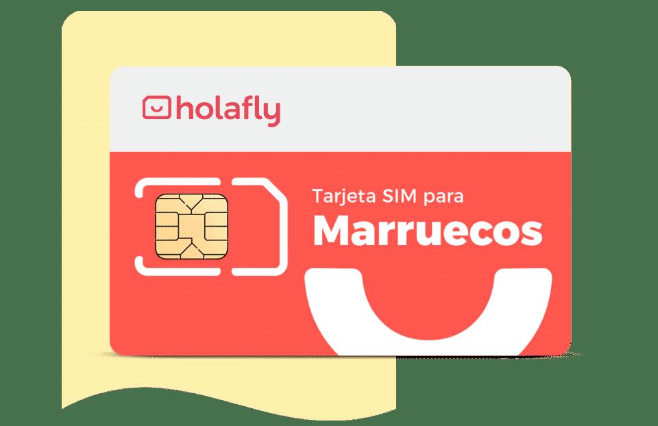Sim Marruecos de Holafly, datos de Internet