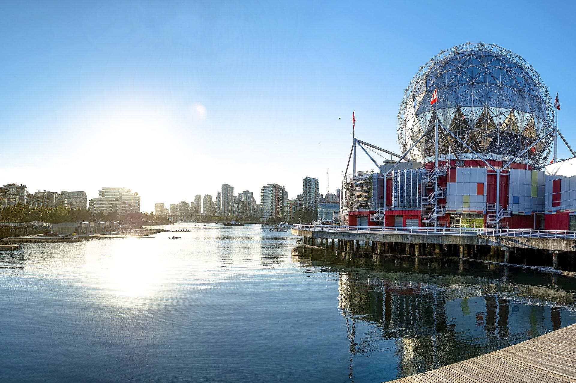 El Mundo de la Ciencia, Vancouver, ciudades bonitas e importantes de Canadá
