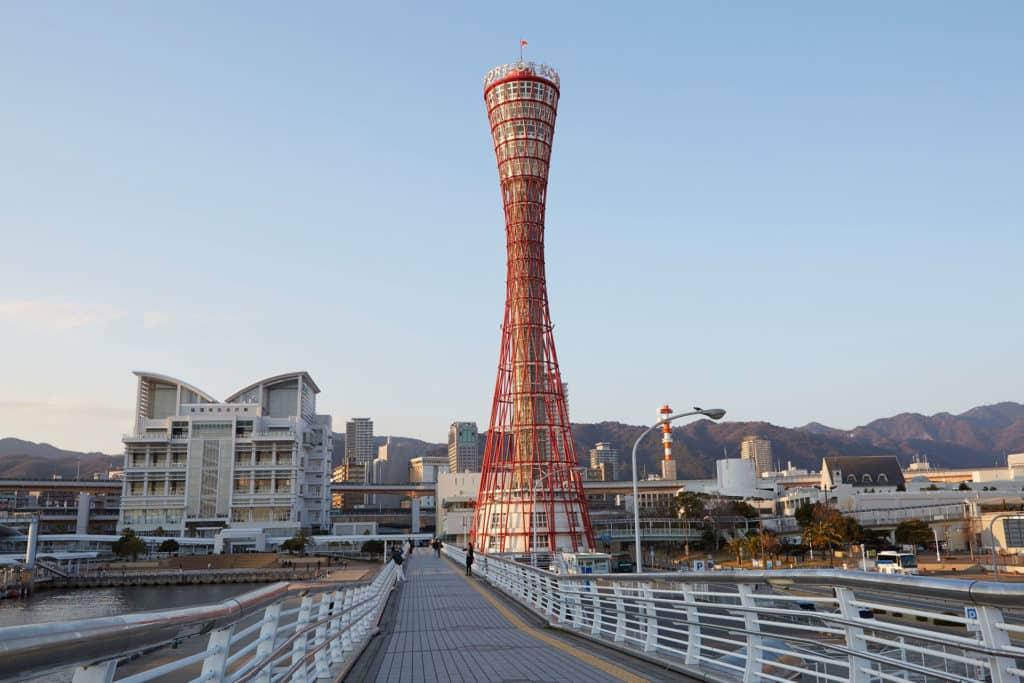 Torre del Puerto de Kobe, monumento japonés