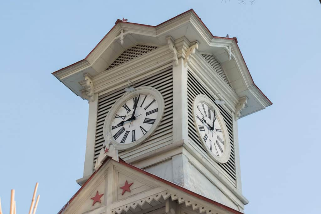 La Torre del Reloj de Sapporo en Japón, monumentos que debes visitar