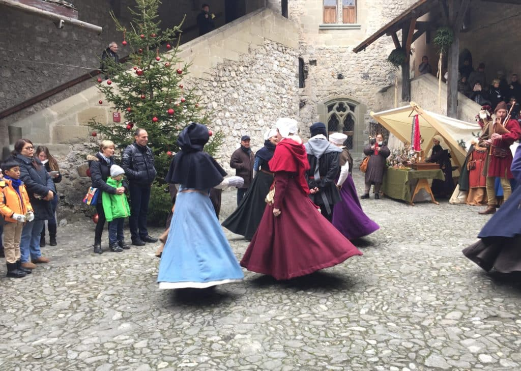 Navidad en Montreux, Suiza, que ver, casa de noel, mercado