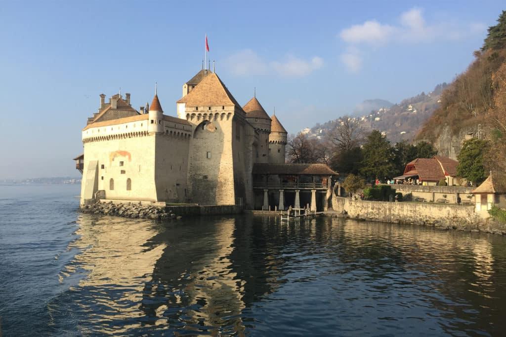 Castillo Chillon, que ver en Montreux, Suiza