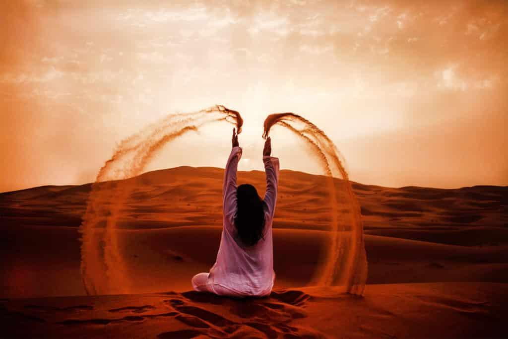 Desierto de Merzouga en Marruecos, viajar