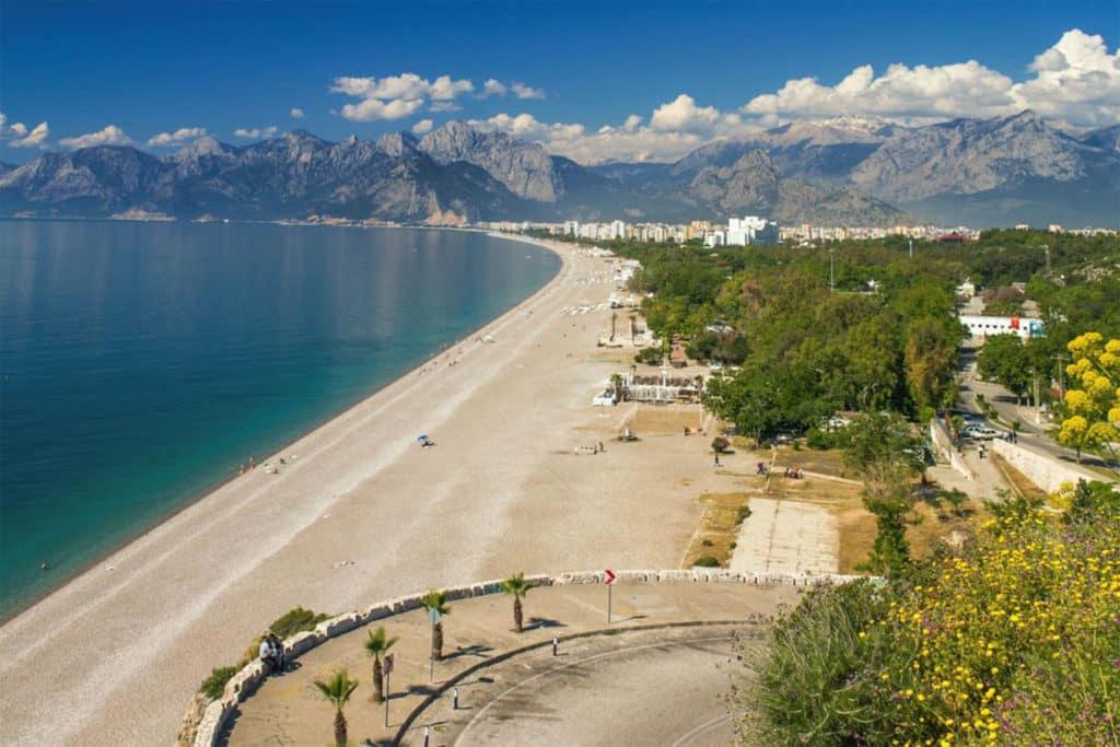 Playas de Antalya, Turquía
