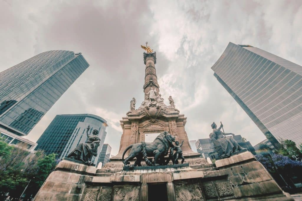 Ángel de la Independencia en Ciudad de México