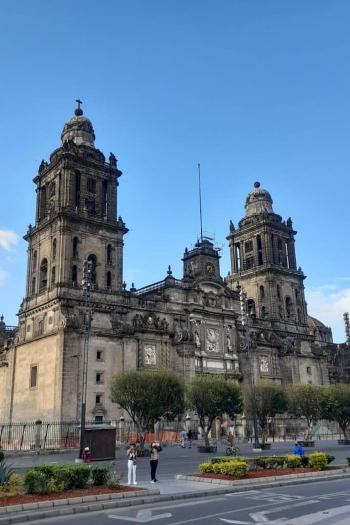 Catedral Metropolitana en Ciudad de México.