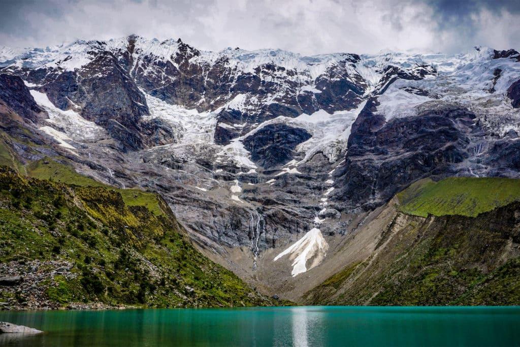 Laguna Humantay, trek Salkantay en Cusco, Perú