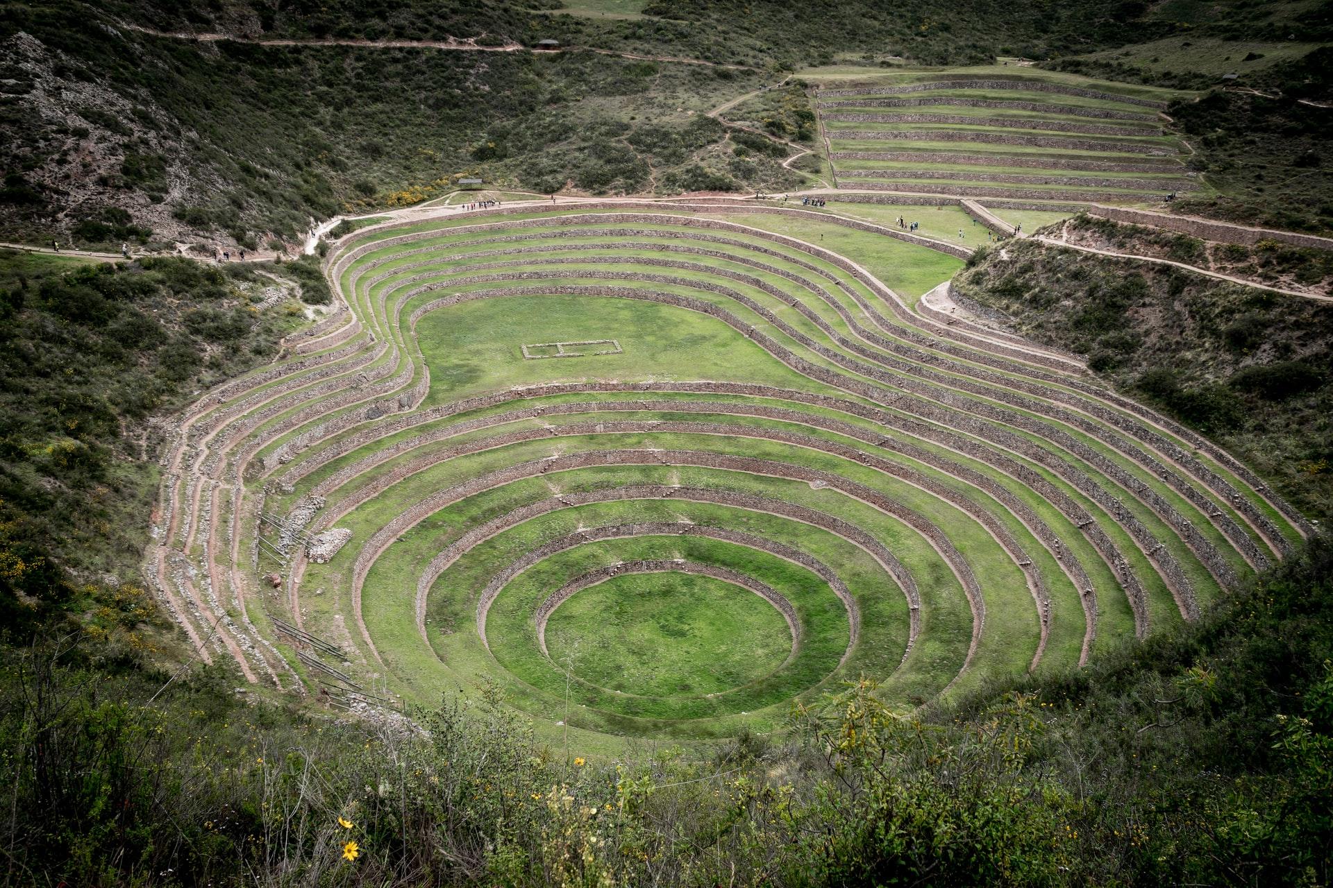 Zona Arqueológica de Moray, Valle Sagrado de los Incas