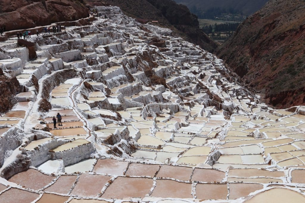 Salineras de Maras en el Valle Sagrado de los Incas