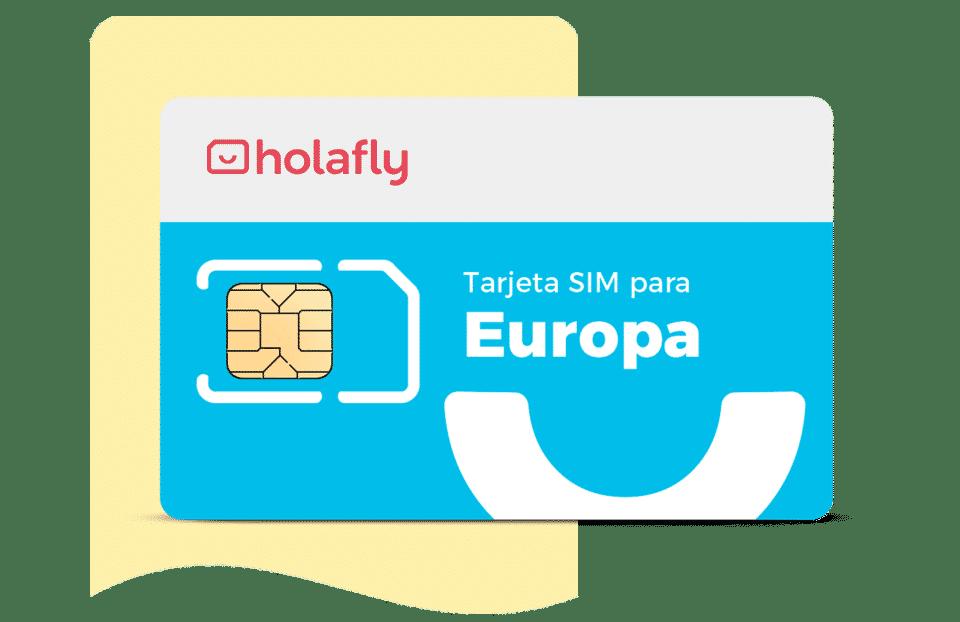Tarjeta sim de datos internacional Europa de Holafly