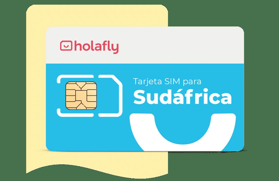 Tarjeta sim de datos internacional Sudáfrica de Holafly