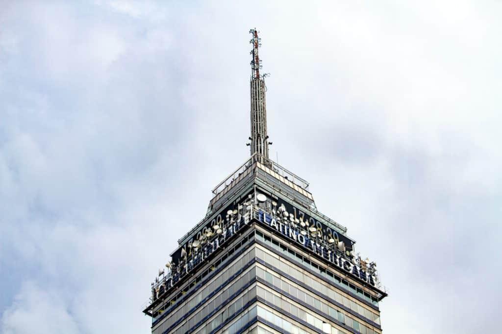 Mirador Torre Latinoamericana en Ciudad de México